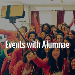 Events with Alumnae