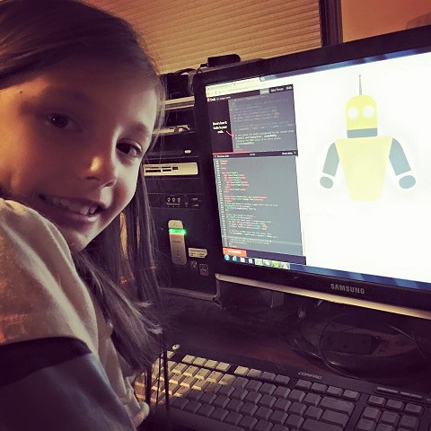 coding picture - niece of student