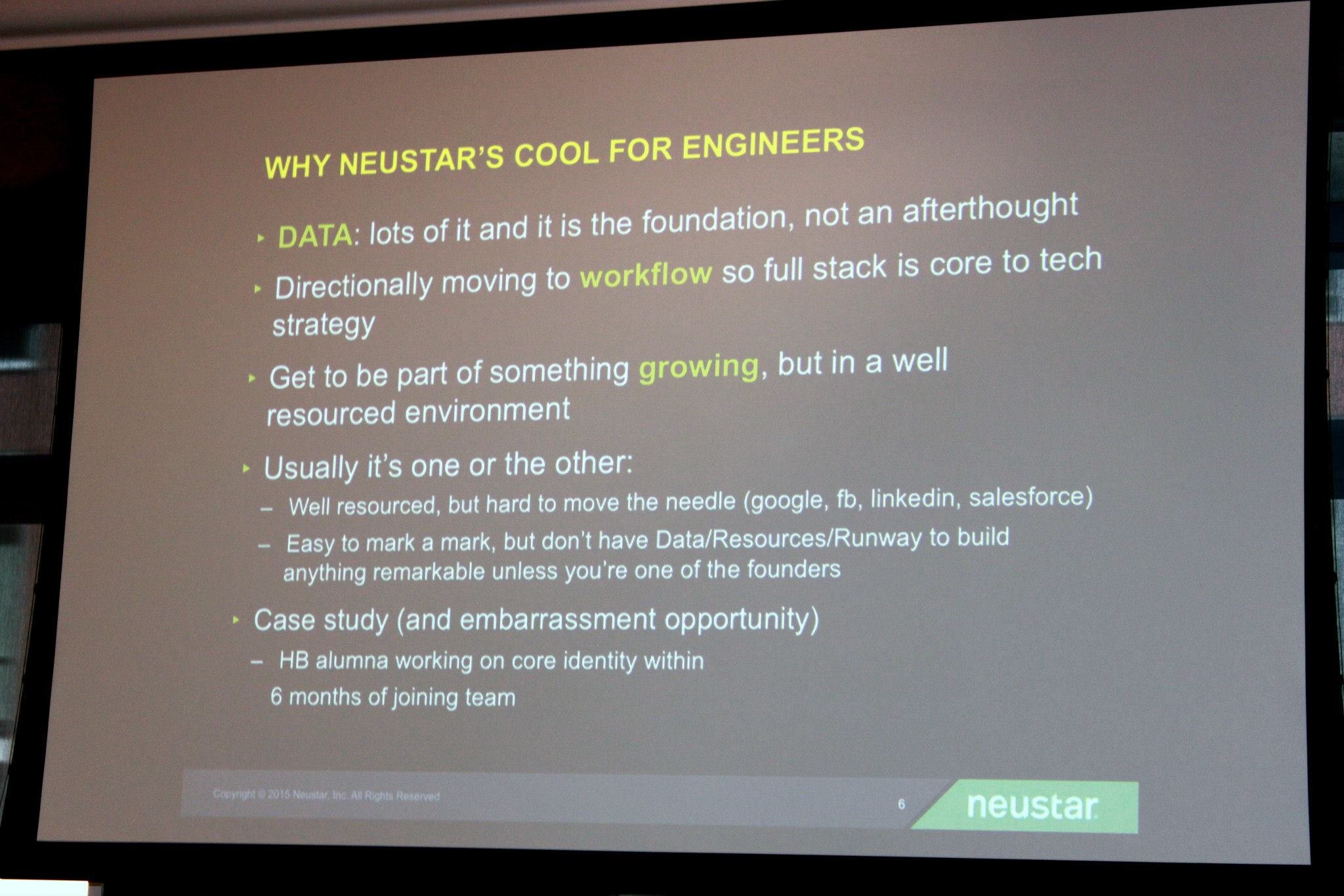 Why work at Neustar