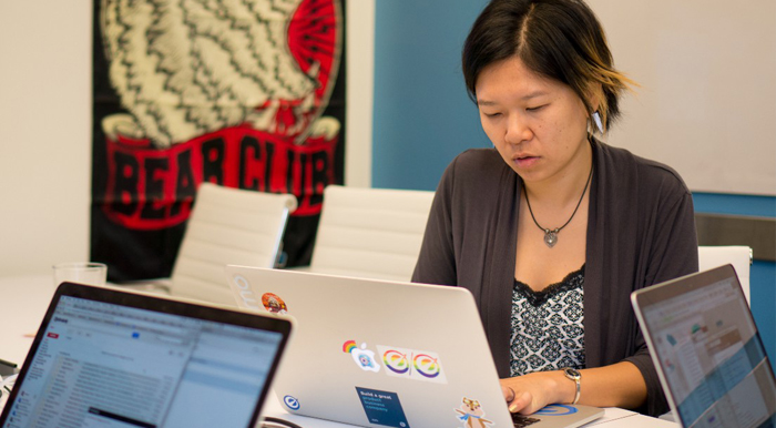 Jenny Lin is an engineering manager at Optimizely