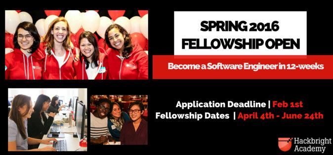 Spring 2016 Fellowship Open