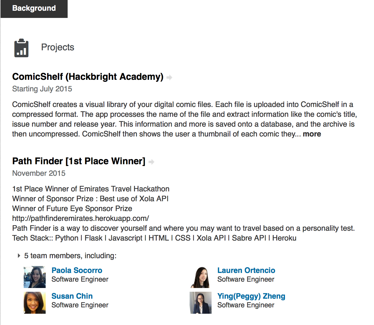 LinkedIn Checklist for Hackbright Job Seekers