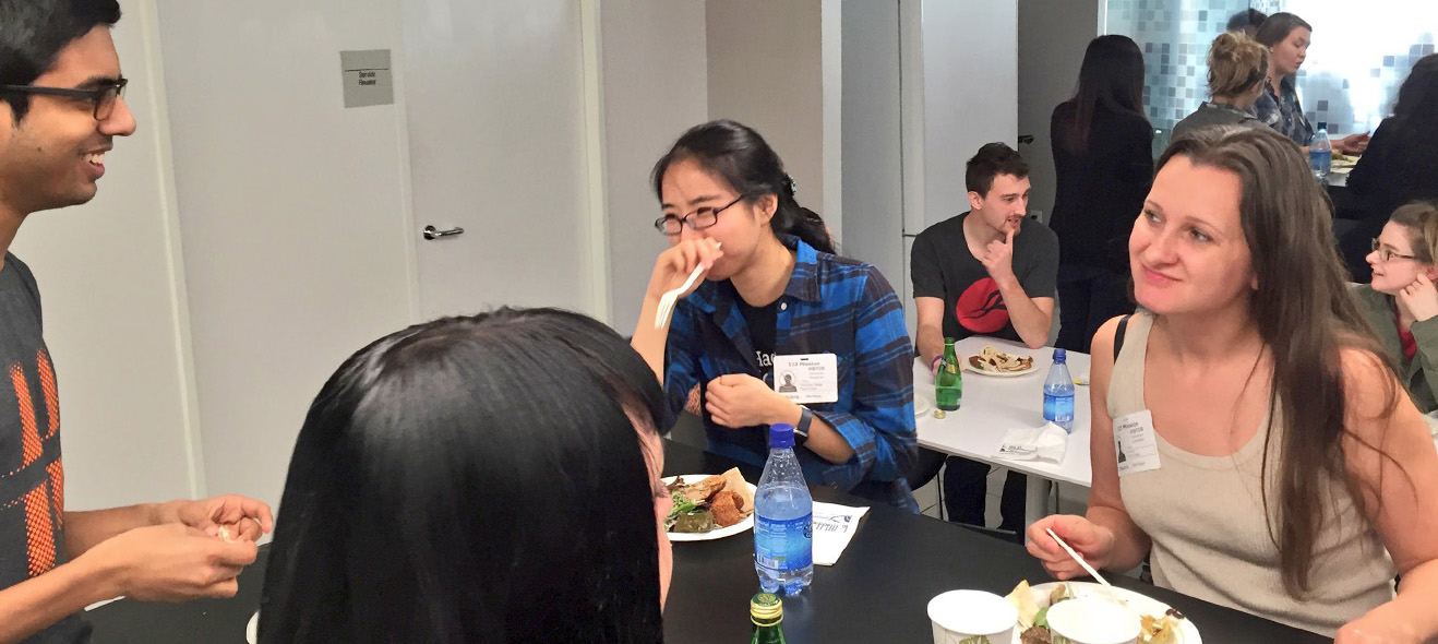 NCC Group lunch and learn with Winter 2016 Hackbright fellows