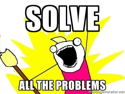 Solve all the programming problems optimized