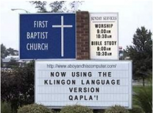 klingonchurch