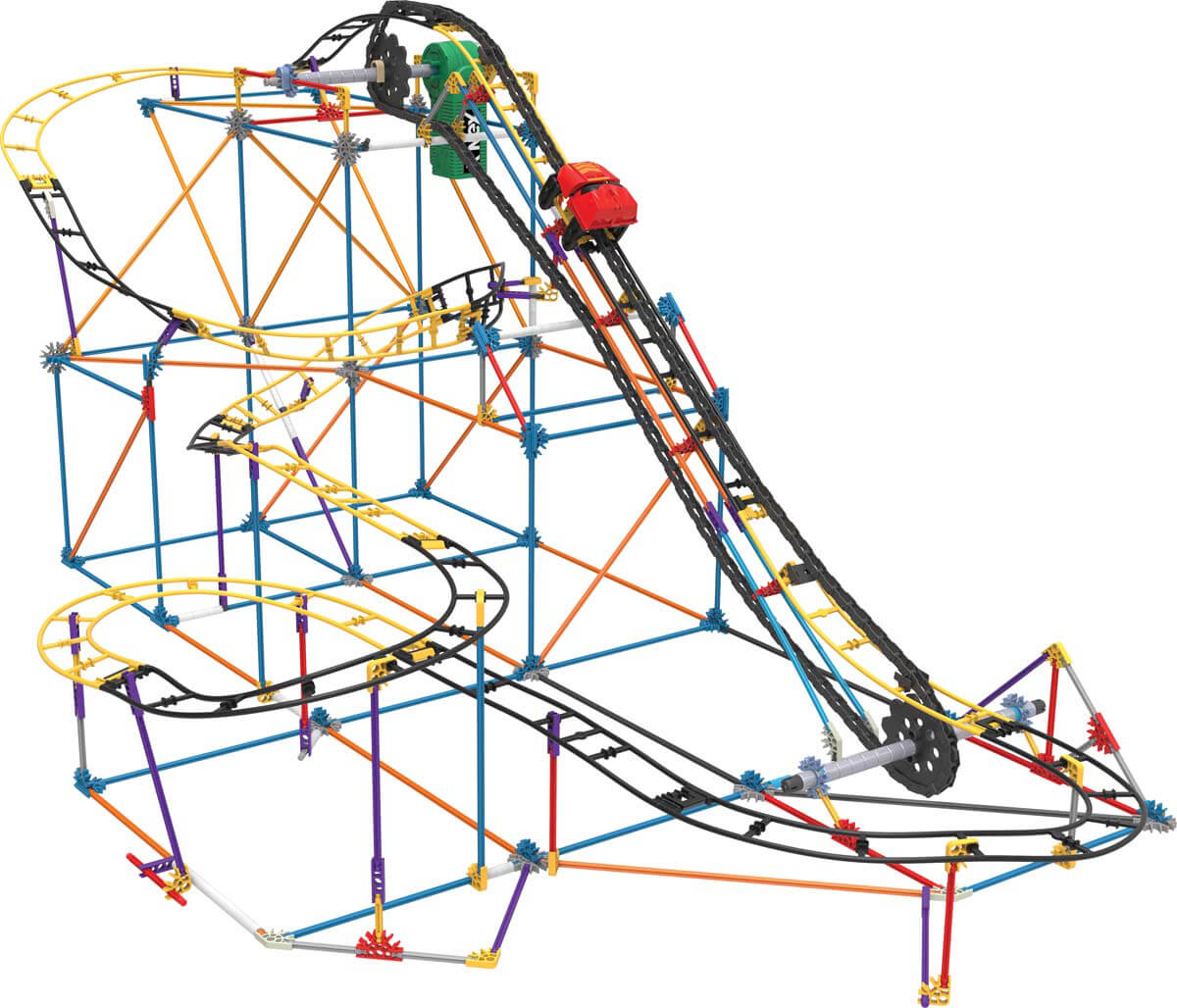 Top Stem Gifts For Kids Hackbright Academy Snap Circuits Sound Light Combo By Elenco On Barstons Childs Play Knex May Be Best Known Lincoln Logs Fantastic Toys In Their Own Right But More Ambitious Little Engineers The Roller Coaster Set Is