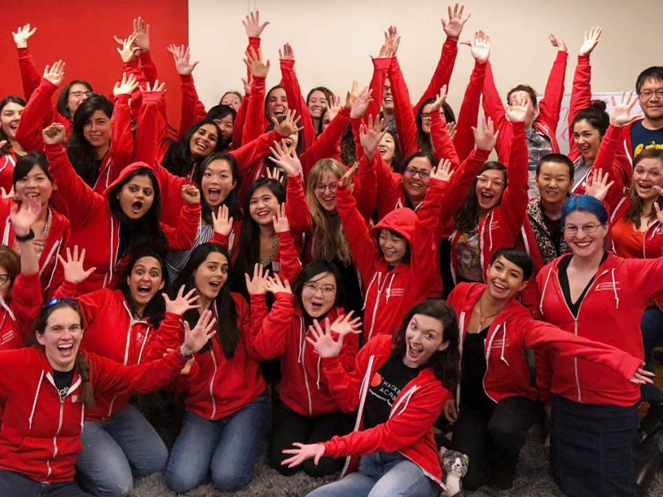 hackbright graduating cohort, ada march 2018
