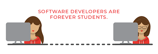 Forever Students | How To Learn Software Development
